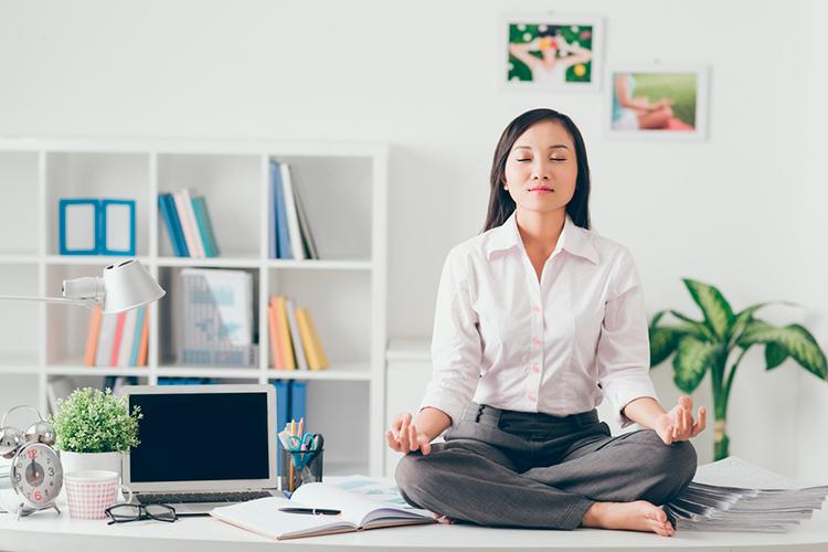 aumento de la productividad con la relajación