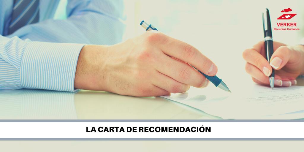 la carta de recomendación rrhh