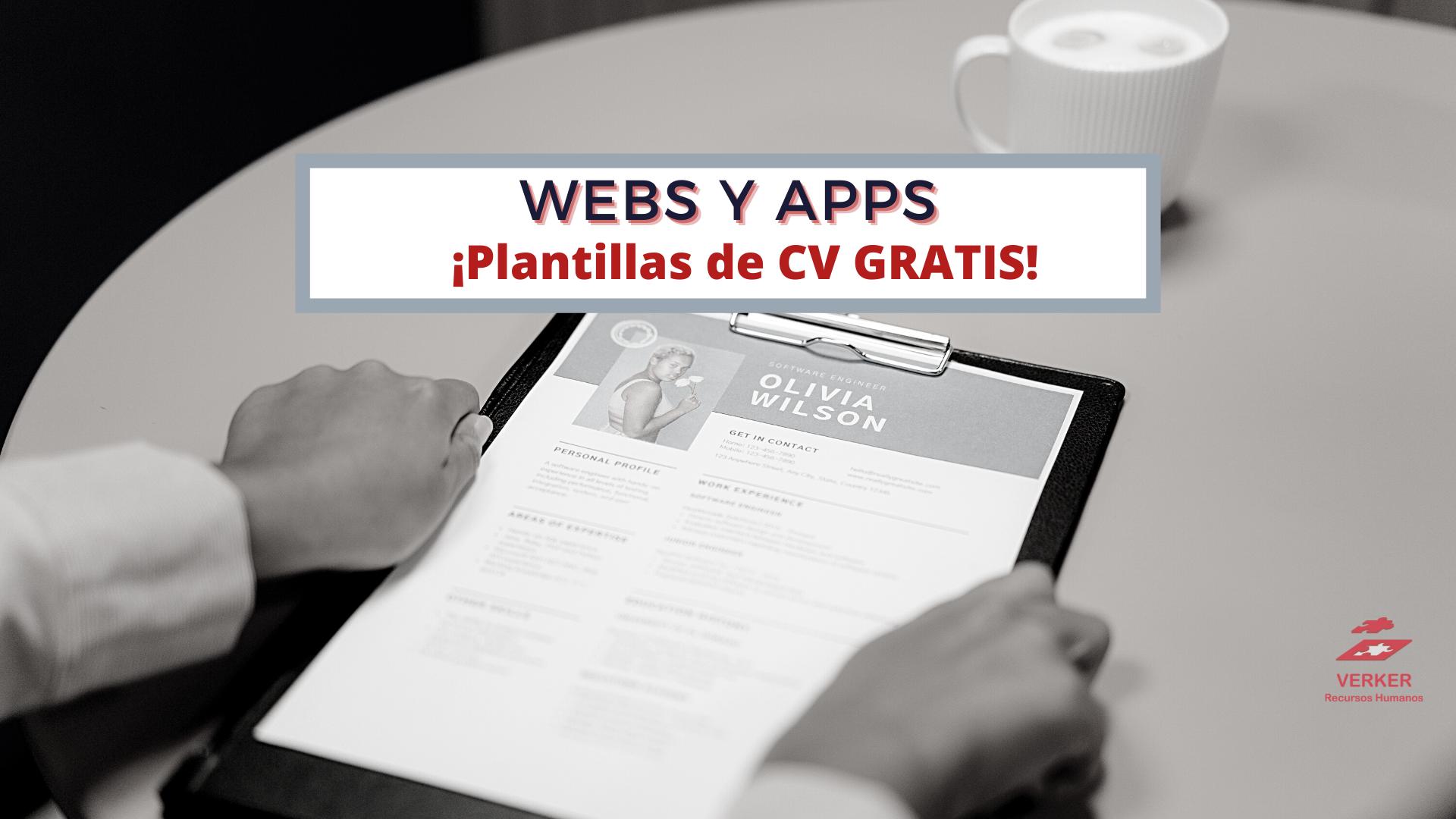 webs y apps cv
