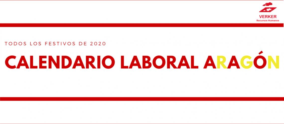 festivos Aragón 2020